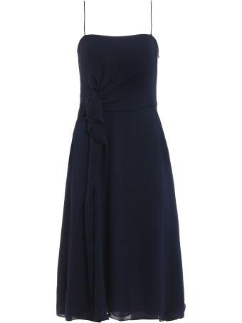 Emporio Armani Gathered Waist Dress