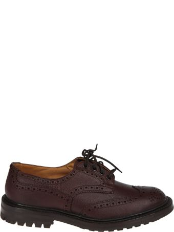 Tricker's Punch-hole Derby Shoes