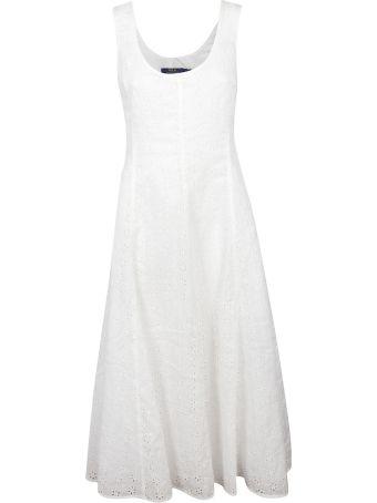 Ralph Lauren Cut-out Detail Dress