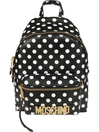 Moschino Polka Dots Backpack