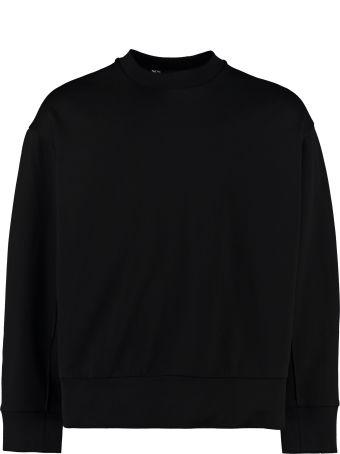 Y-3 Signature Graphic Cotton Sweatshirt
