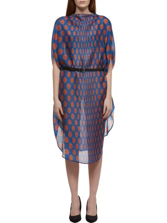 MM6 Maison Margiela Oversized Printed Dress