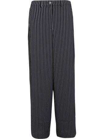 Essentiel Pinstripes Flared Trousers