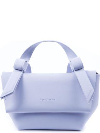 Acne Studios Pale Blu Musubi Leather Small Handbag