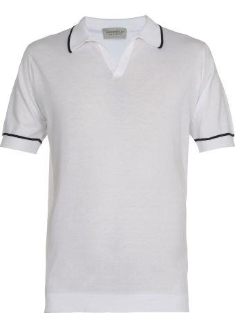 John Smedley Buttonless Polo Shirt
