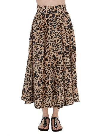 Zimmermann Leo Print Skirt