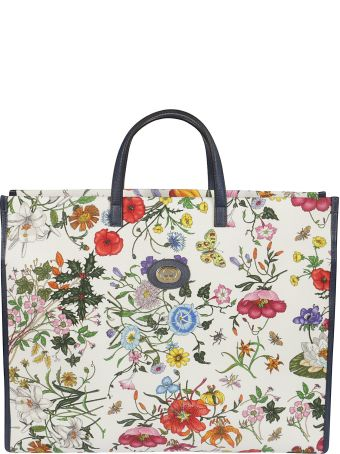 Gucci Floral Large Tote