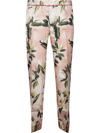 For Restless Sleepers F.r.s. Tropical Print Trousers