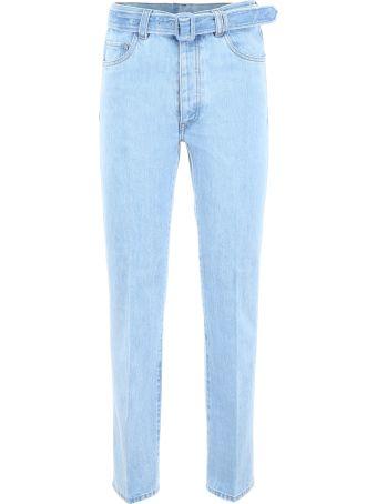 Prada Jeans With Belt