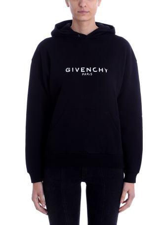 Givenchy Logo Patch Hoodie Sweatshirt