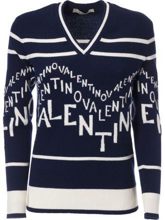 Valentino Emblazoned Logo Sweater