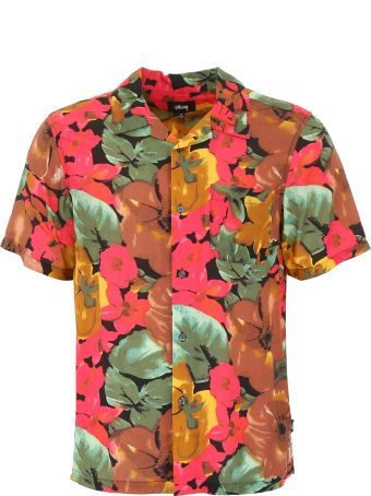 Stussy Watercolor Flower Shirt