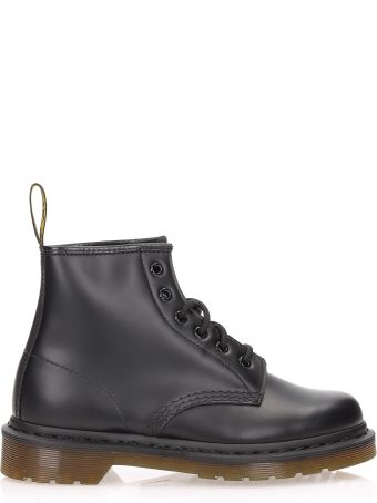Dr. Martens 101 Smooth Black 6 Eye Boot