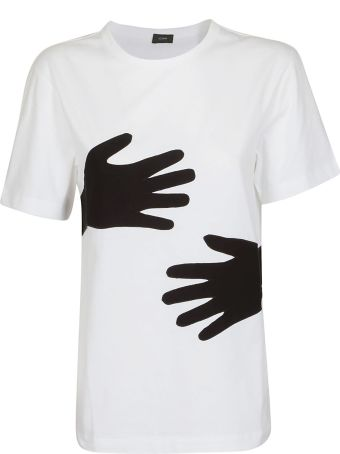 Joseph Embroidered Hands T-shirt