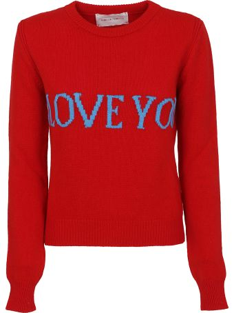 Alberta Ferretti I Love You Sweater