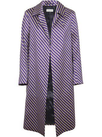 Dries Van Noten Asymmetric Line Coat