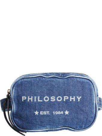 Philosophy di Lorenzo Serafini Sling Pouch In Denim