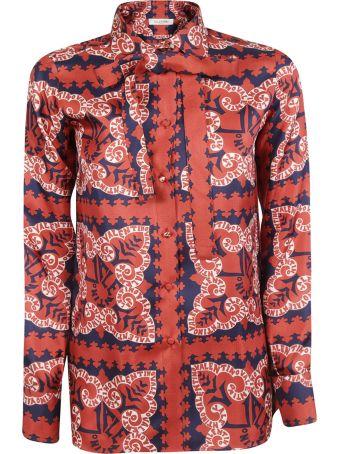 Valentino Mini Bandana Print Shirt