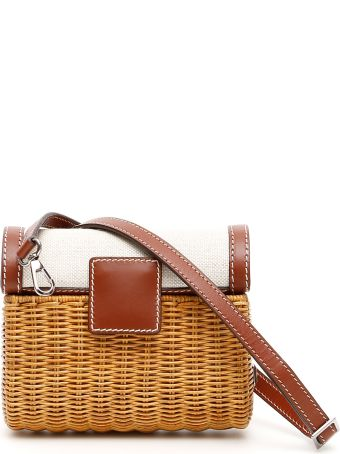 Rodo Wicker Mini Bag