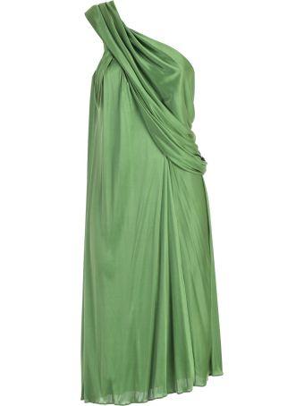 Lanvin Wrap Style Dress