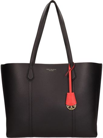 Tory Burch Grey Leather Perry Triple Bag