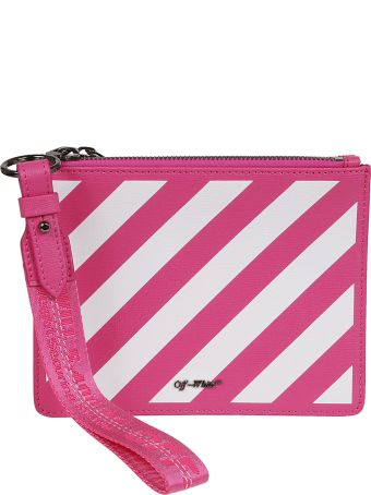 Off-White Diag Double Flat Clutch