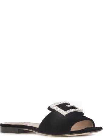 Gucci Logo Flat Sandals