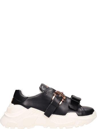 Paula Cademartori Yokoo Black Leather Sneakers