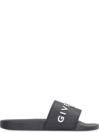 Givenchy Logoed Rubber Slides