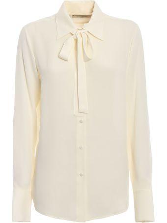 Valentino Necktie Detail Shirt