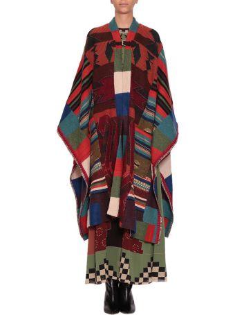 Etro Wool Poncho