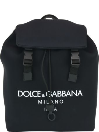 Dolce & Gabbana Palermo Neoprene Backpack With Logo