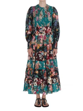 Zimmermann Allia Tiered Long Dress