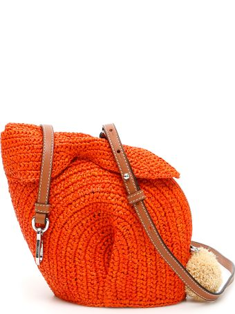 Loewe Raffia Bunny Mini Bag