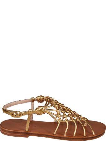 Stuart Weitzman Seaside Flat Sandals