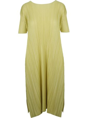 Pleats Please Issey Miyake Pleats Please By Issey Miyake Pleated Dress