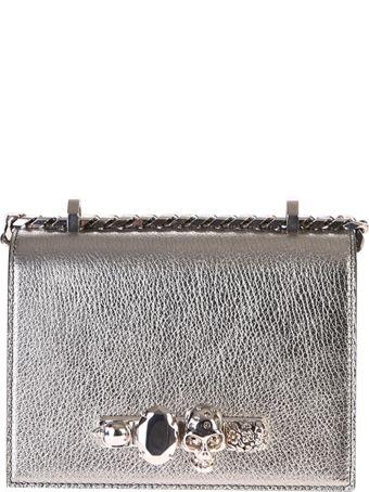 Alexander McQueen Embellished Shoulder Bag