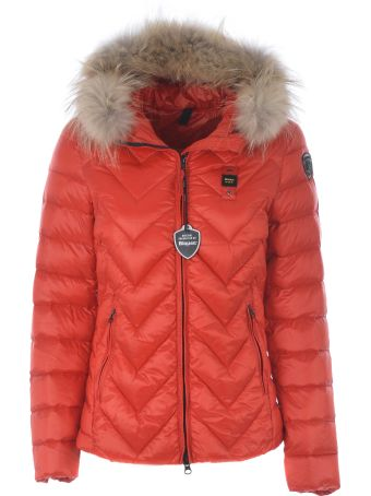 Blauer Faux Fur Padded Jacket