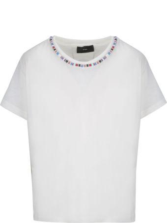 Alanui Bead-embellished T-shirt