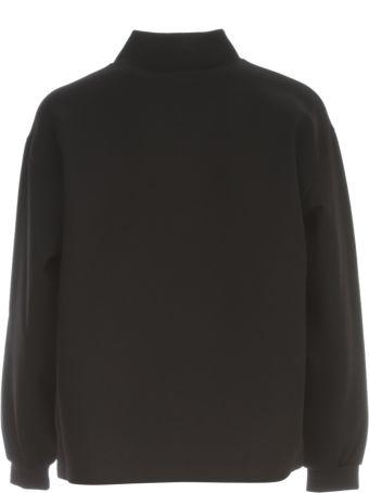 Victoria Beckham Raised Logo Sweatshirt