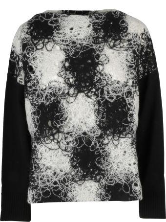 PierAntonioGaspari Pier Antonio Gaspari Checkered Sweater
