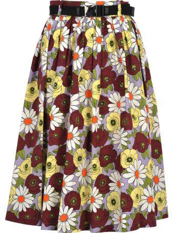 Prada Skirt Blossom