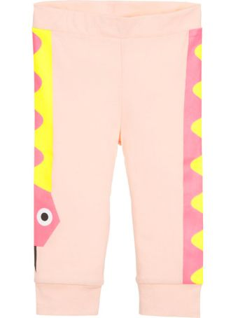 Stella McCartney Kids Pink Newborn Leggins
