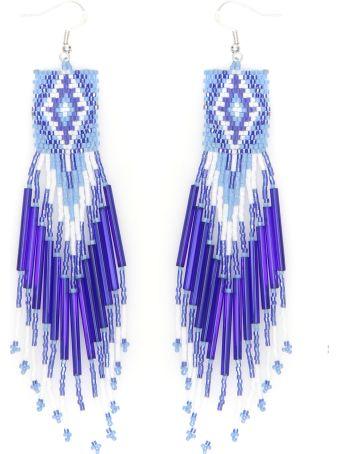 Jessie Western Zuni Chandelier Earrings