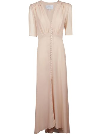 Luisa Beccaria V-neck Dress
