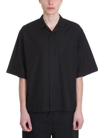 OAMC Vacum S-s Black Cotton Shirt