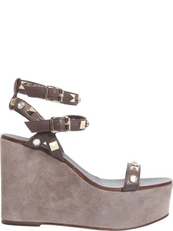 Ash Touch Wedge Sandals