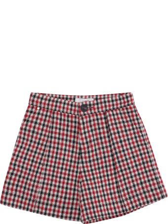 Chloé Checked Shorts
