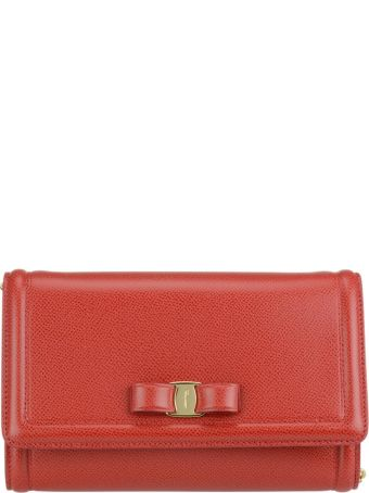 Salvatore Ferragamo Vara Bow Shoulder Bag