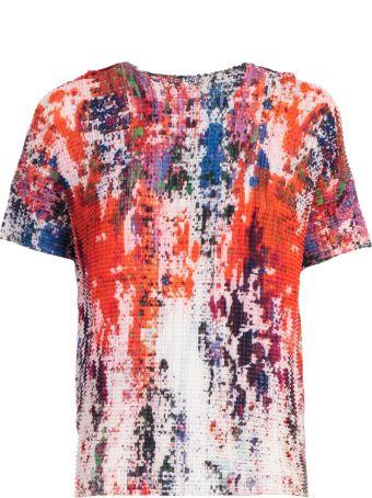 Issey Miyake Paint Print T-shirt